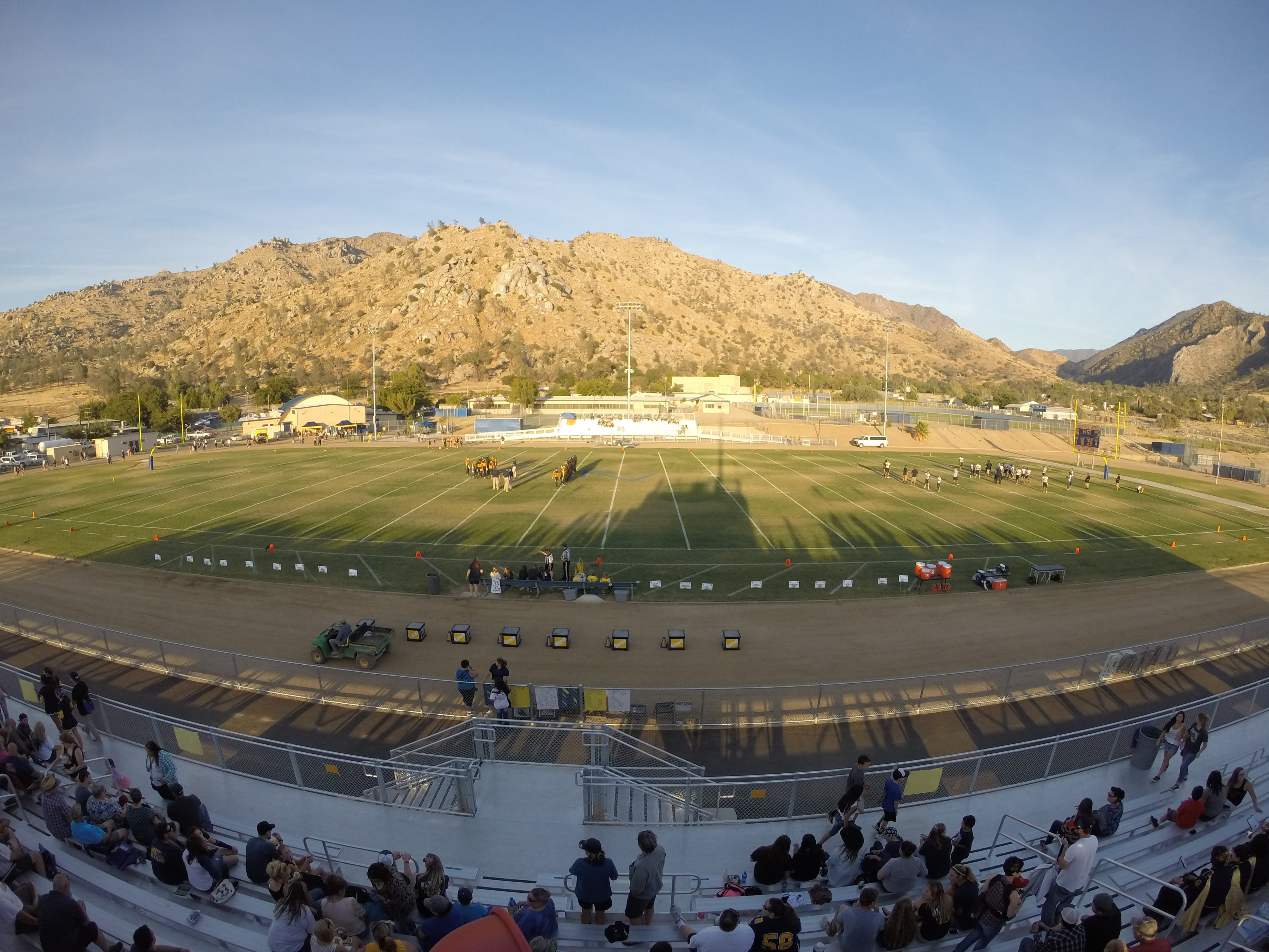 High School Football – Boron vs. Kern Valley! | Little John Photo